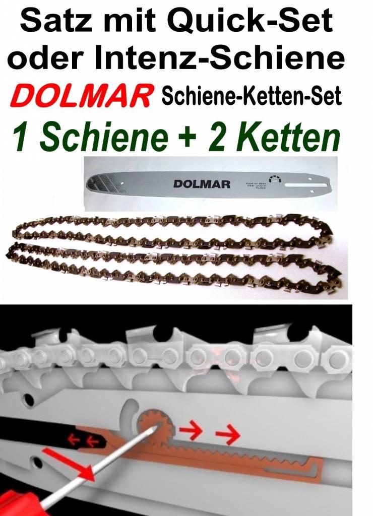 Oregon Sägekette  für Motorsäge DOLMAR ES-3 Schwert 30 cm 3//8 1,3