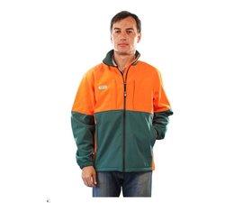 Forstjacke Waldarbeiterjacke Forest-Jack Soft-Shell Größe XXL wasserabweisend leicht warm atmungsaktiv