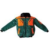 Forstjacke Forst - Allwetterjacke Fahrerjacke Piloten Jacke 4 in 1  Größe L - für Winter und Sommer