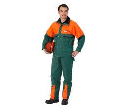 Forstjacke Waldarbeiterjacke Jacke ohne Schnittschutz Modell Forest-Jack Gr. S -46/48