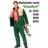 Forstjacke Waldarbeiter Jacke ohne Schnittschutz Forest-Comfort Gr. 50 / 52