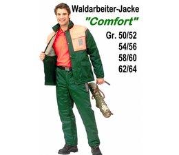Forstjacke Waldarbeiter Jacke ohne Schnittschutz Forest-Comfort Gr. 46 / 48