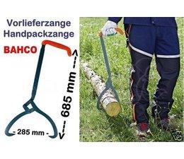 Vorlieferzange BAHCO / EIA 285mm Maulweite L. 685mm Forst Packzange Schleppzange für Stammholz 180° Griff