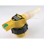 Einfüllstutzen Einfüllsystem Kraftstoff für Kettensäge Freischneider auf Kunststoff - Kanistern 5+10 Liter