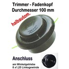 Fadenkopf Efco 8510 Boss / IC + Stark 25 + 26 + IC Oleo-Mac: 433 BP + 726 T Sparta 26 + 26 S Freischneider
