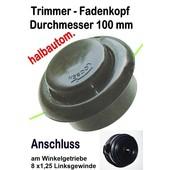 Fadenkopf Efco 8510 Boss / IC + Stark 26 + 26 IC Oleo-Mac: 433 BP + 726 T Sparta 26 + 26 S Freischneider