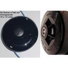 Fadenkopf Dolmar MS 252.4U MS 252.4C bis 3,0 mm Faden mit 10 X 1,00 Linksgewinde an Freischneider Motorsen