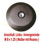 Fadenkopf Homelite BCH 20 / 24 BCH 32 bis 48 HK-14 / 18 / 24 / 28 / 33 / 38 / PBC 3600 HBC 30 / 38 / 40 / 48 , ST 385