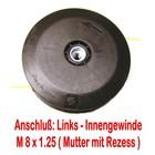 Fadenkopf Mc Culloch MC 22 / MC 23 / MC 30 / MC 38 8x1.25 links Innen-Gewinde im Kopf des Freischneider