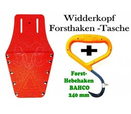 Forst Werkzeugtasche / Holster / Gürteltasche + 180° Hebehaken geschliffene Spitze von BAHCO / EIA