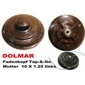 Fadenkopf Dolmar MS 30C + MS 30U + MS 31C + MS 31 U + MS 340 + MS 400 Motorsense / Freischneider