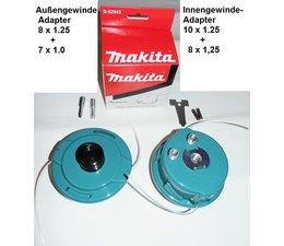 Freischneider Fadenkopf Makita DUR182L + ER2550LH + EM2651UH + EX2650LHM + EX2650LHM Motorsense