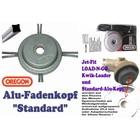 Fadenkopf Alu-Mähkopf Oregon Standard für Square-Nylium Faden an Freischneider u. Motorsense