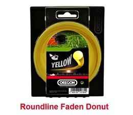 Freischneider Mähfaden 3.5 mm x 40 m Oregon Roundline rund gelb für Motorsense Fadenkopf