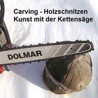 Carving - Holzschnitzen Kunst mit Kettensägen