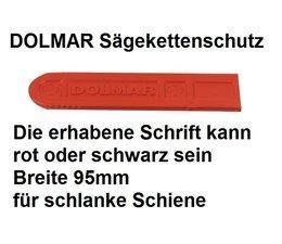 Sägekettenschutz von Dolmar für 40cm Schnittlänge kann auf 35cm gekürzt werden Breite 95mm schlanke Schiene