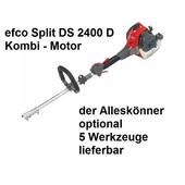 Freischneider Kombimotor efco Split 2400 D leistungsfähiger 0,9 kW / 1,2 PS 2-Takt Motor mit D-Grif