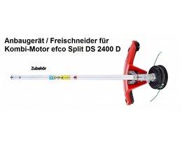 Zusatzgerät Freischneider für Kombimotor efco Split 2400 D mit Winkelgetriebe und Fadenkopf Load&Go