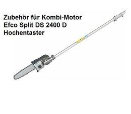 Zusatzgerät Hochentaster für Kombimotor efco Split 2400 D Winkel-Verstellung in 5 Positionen von 0° > 90°