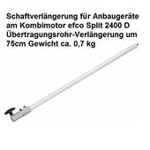 Freischneider Kombimotor Zusatzgerät Schaftverlängerung für efco Split 2400 D
