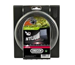 Freischneider Mähfaden Oregon Square-Nylium 3,0mm x 40m Rolle für Motorsense Mähkopf Oregon Standard