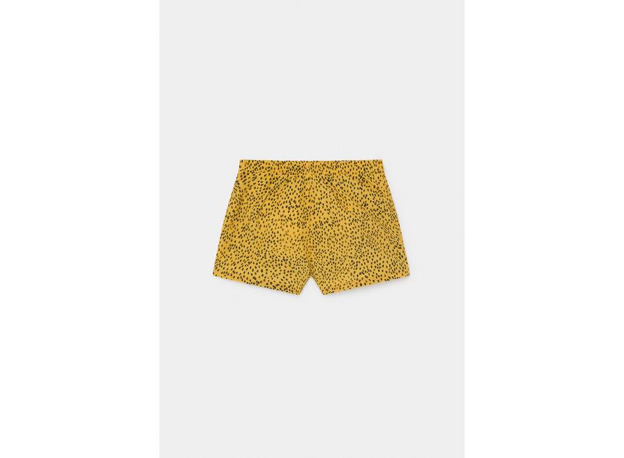 Bobo Choses leopards swim shorts yellow