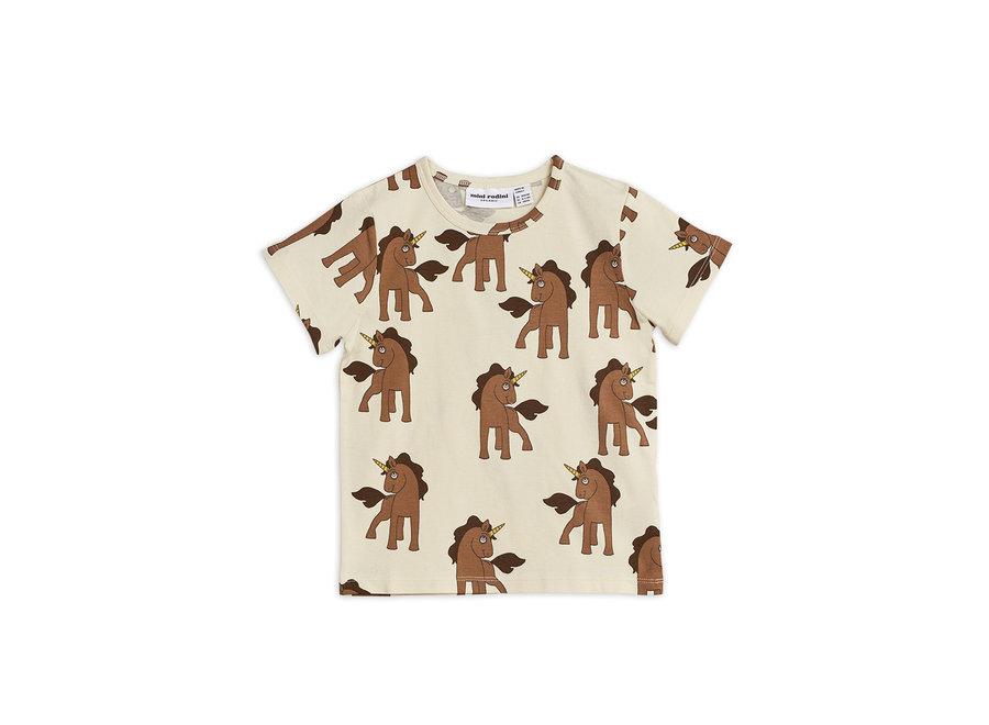 Mini Rodini Unicorns aop ss tee
