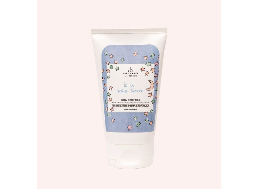 The Gift Label Baby Body Milk // It Is Spa Time