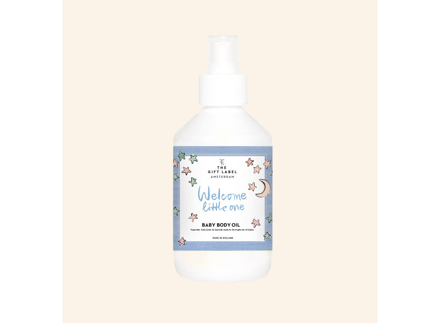 The Gift Label Baby Body Oil // Welcome Little One