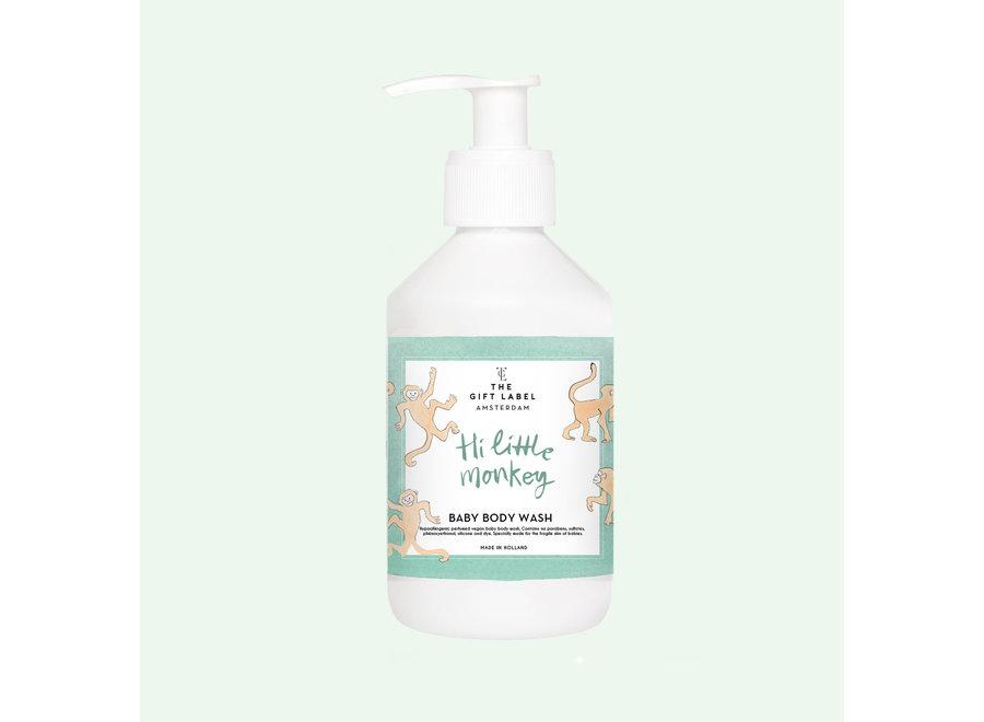 The Gift Label Baby Body Wash // Hi Little Monkey