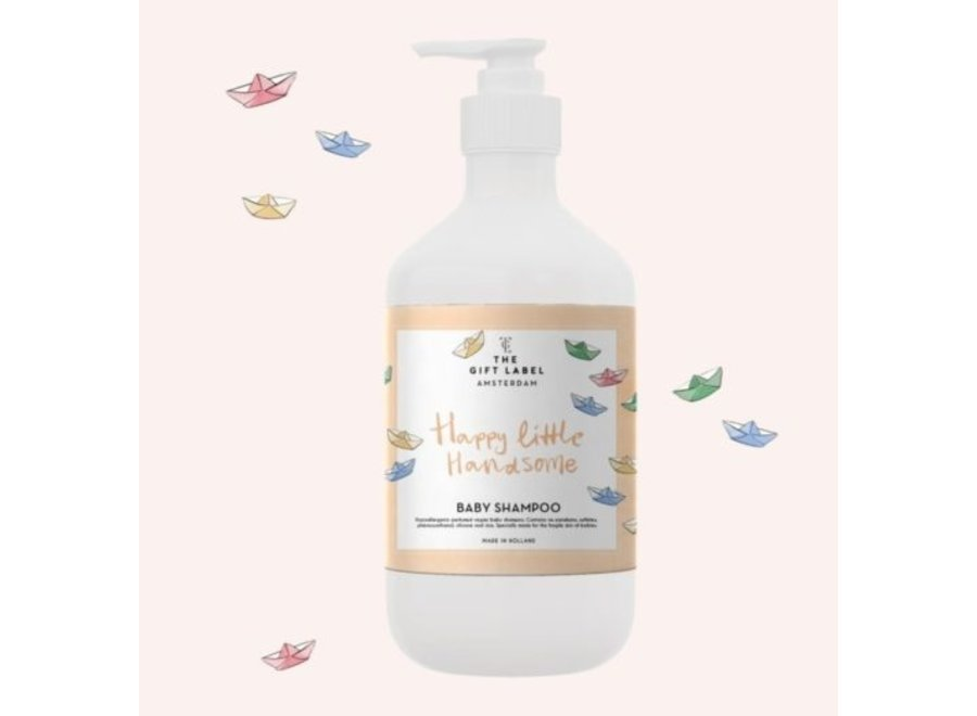 The Gift Label Baby Shampoo // Happy Little Handsome