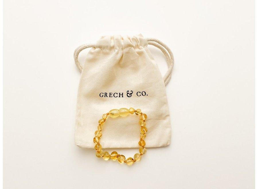 Grech & Co. Baltic Amber children's bracelet Enlighten