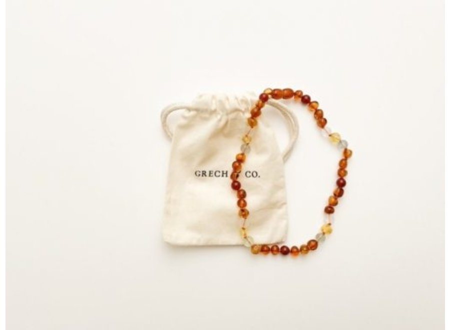 Grech & Co. Baltic Amber children's necklace Willow