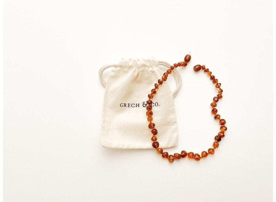 Grech & Co. Baltic Amber children's necklace Strength
