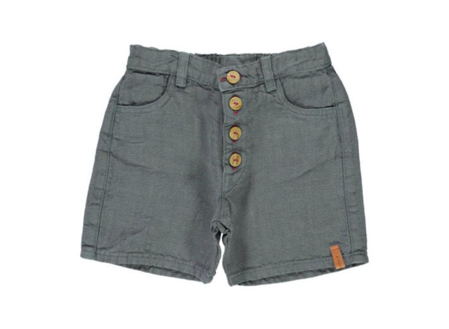 Piupiuchick shorts grey linen