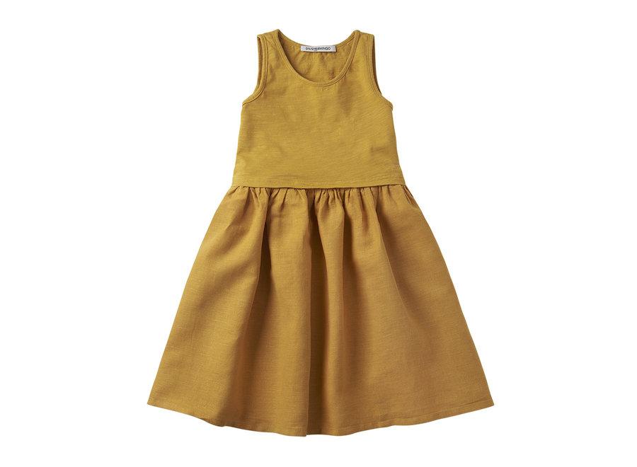 Mingo sleeveless dress Spruce Yellow