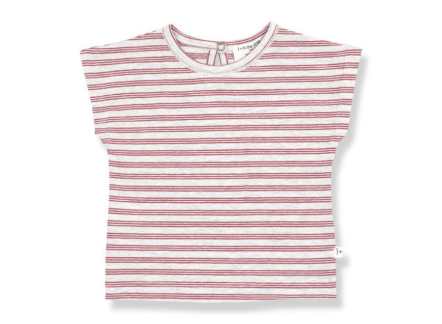 1 + in the Family Menton T-shirt red