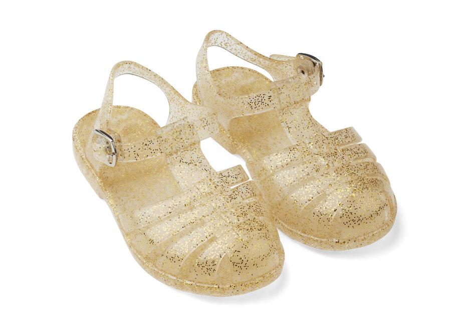 Liewood Bre sandals glitter gold
