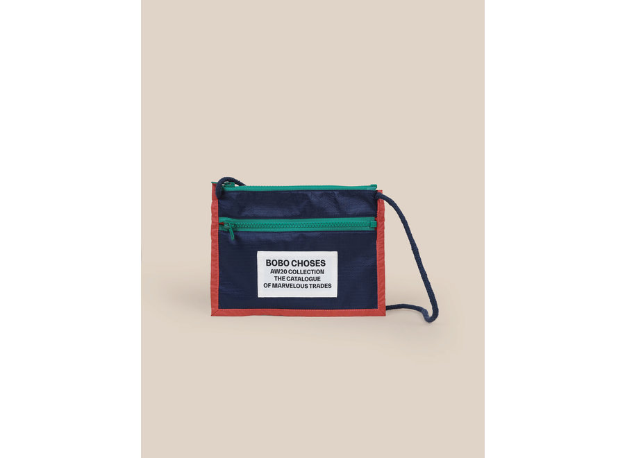 Boy Patch Passport Bag