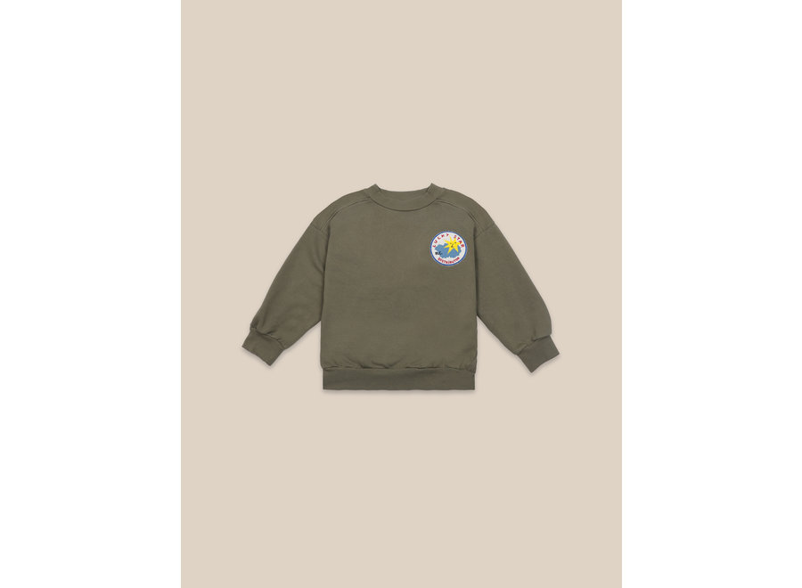 Lucky Star Patch Sweatshirt