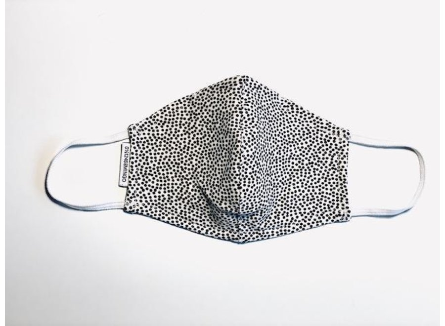 Mingo mouth mask dots