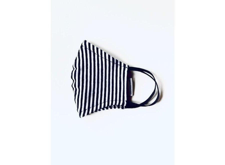Mingo mouth mask stripes