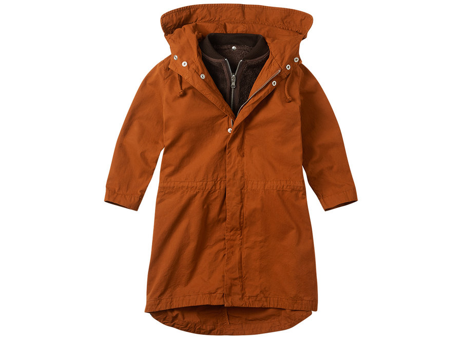 Parka Dark Ginger