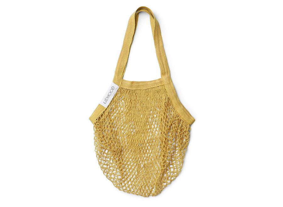 Mesi mesh tote bag Yellow mellow