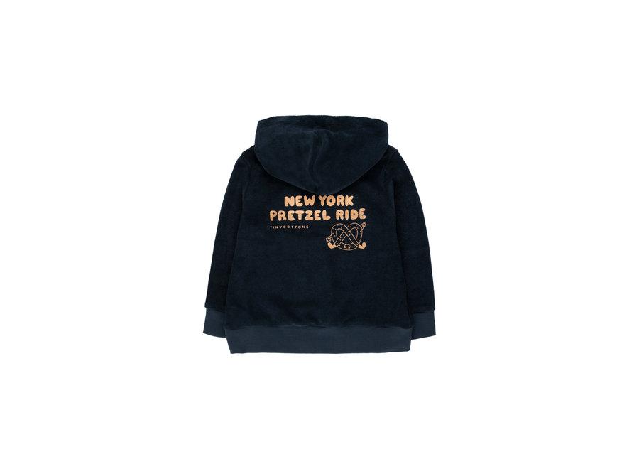 Pretzel ride hoody sweatshirt