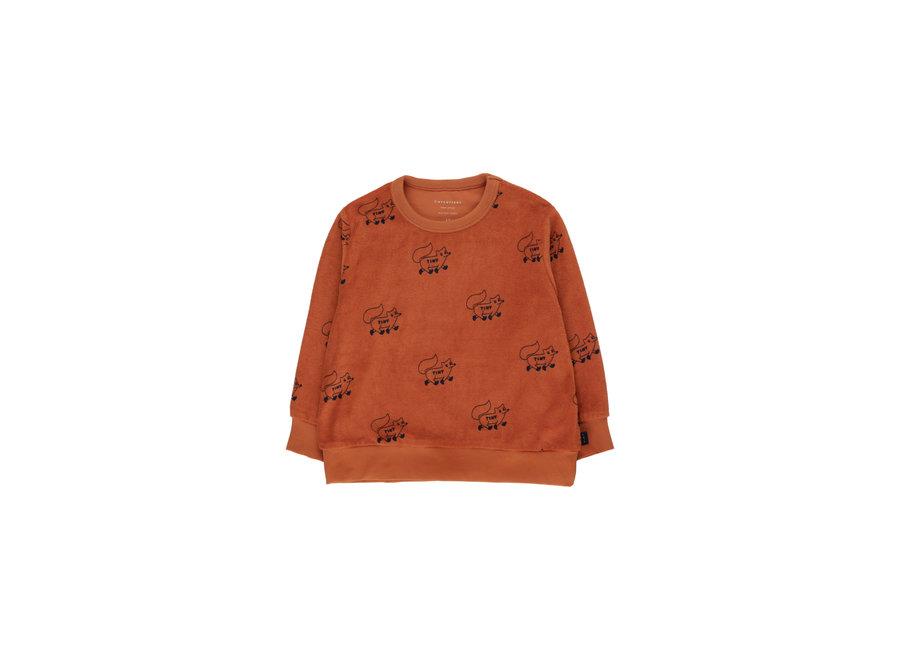 Foxes sweatshirt terry