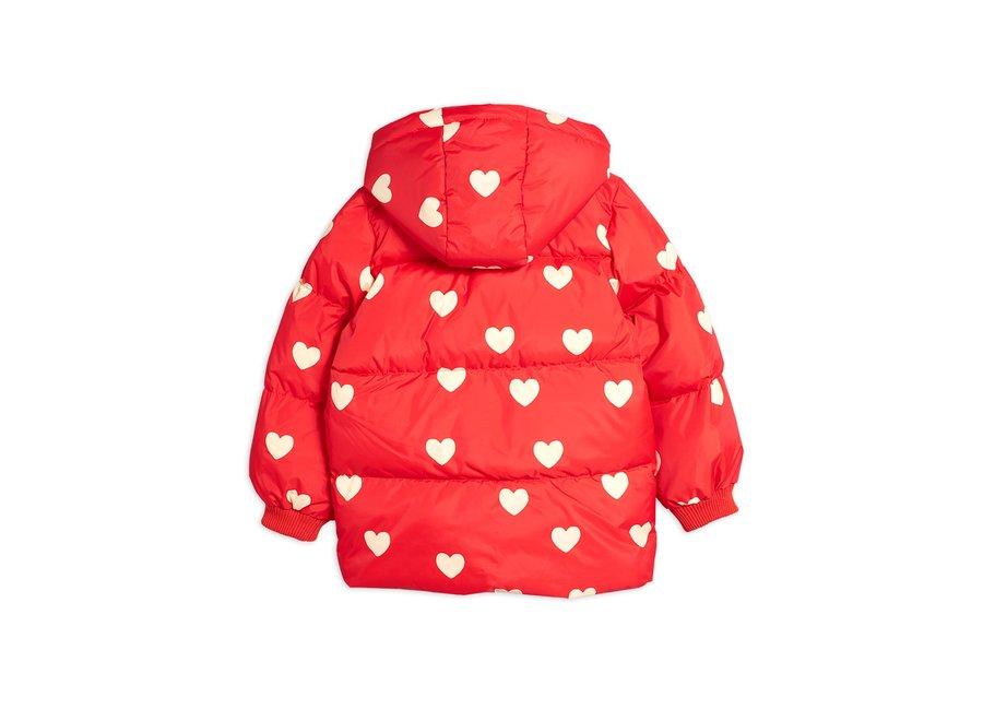 Hearts pico puffer jacket