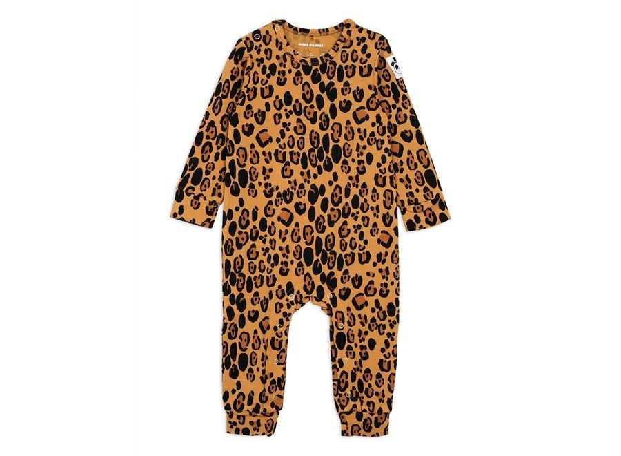Basic leopard jumpsuit