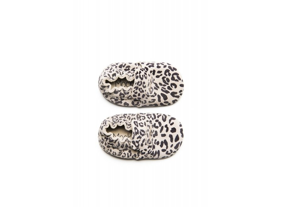 First Steps Leopard Grey