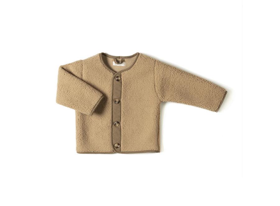 Teddy Vest Camel Lammy